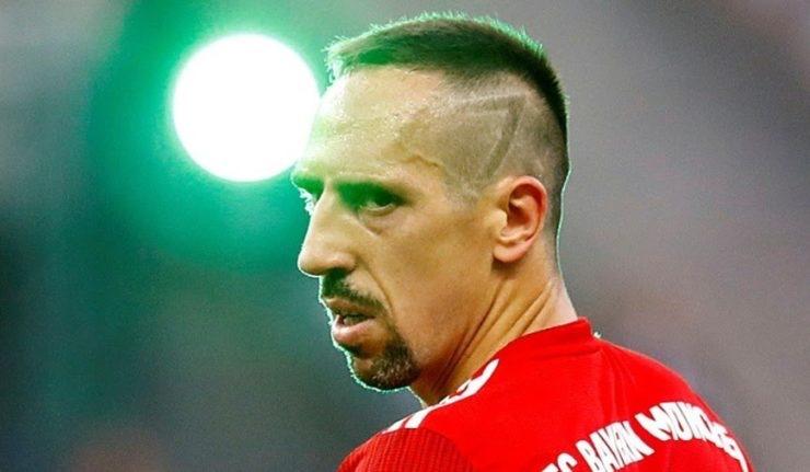 Franck Ribery is Sorry For Slapping TV Reporter Following Bayern's Bundesliga Loss
