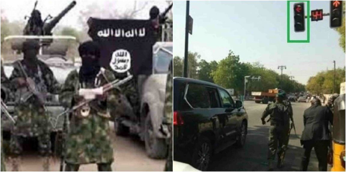 Boko Haram terrorists Allegedly attacked convoy of Borno State Governor