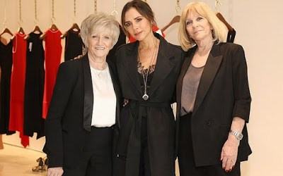 Victoria Beckham Celebrates International Women's Day With Mum & Mother-In-Law