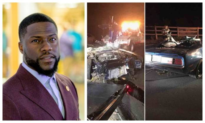 Image result for Photos of kelvin hart and car crash