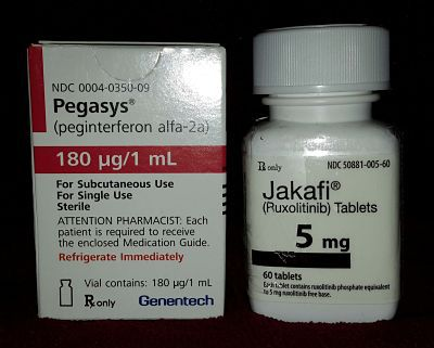 Pegasys Jakafi combo for MPNs