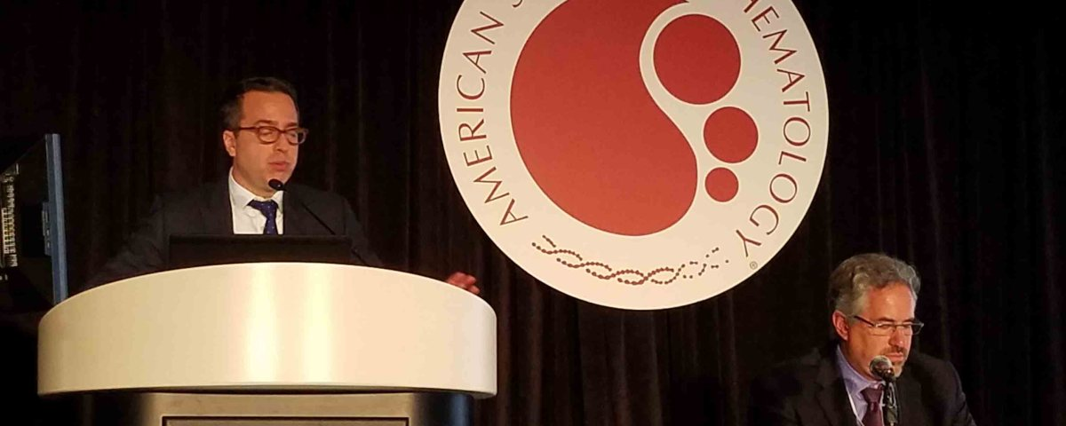 Dr Mascarenhas presenting at ASH 2017 on Nutlin