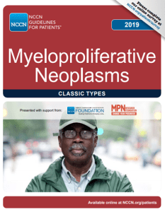 MPN 2019 Guidelines, MPN Cancer Connection