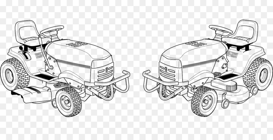 Lawn Mowers Riding Mower Drawing Clip Art Color Tractor