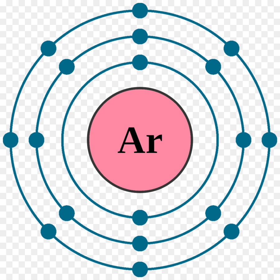 hight resolution of electron configuration noble gas atom chemical element neon argon design element