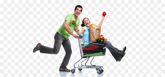 Transparent Grocery Shopping Png 1