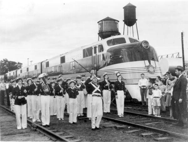 The Orange Blossom Special Passenger Train