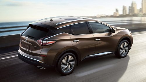 small resolution of new nissan murano exterior features