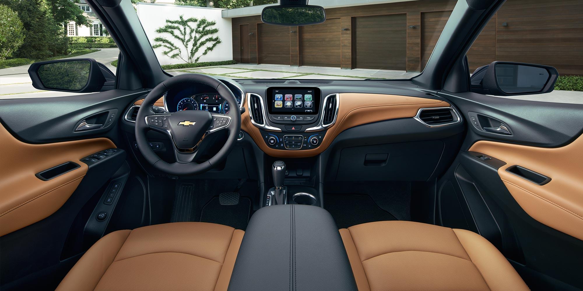 hight resolution of new chevrolet equinox interior features