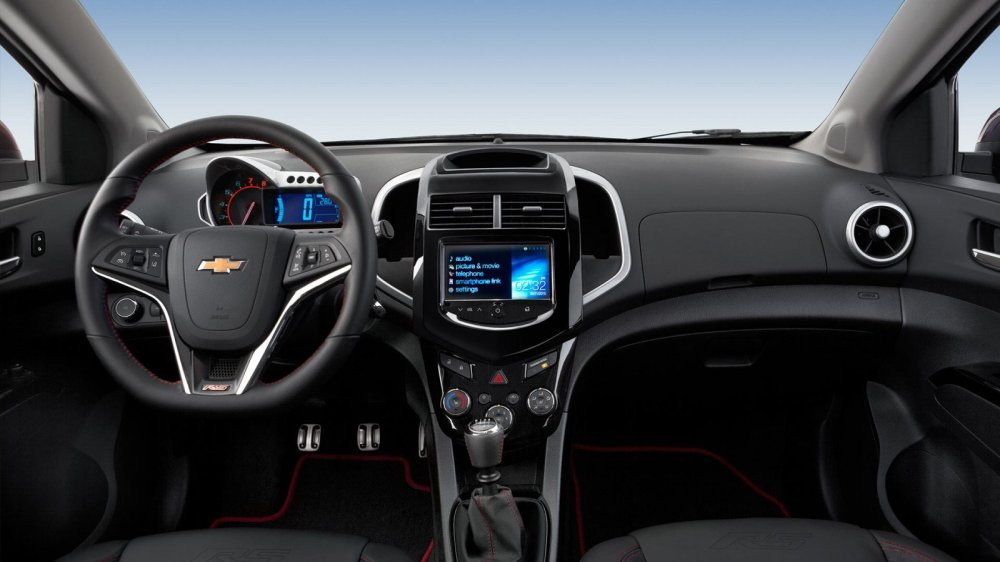medium resolution of new chevrolet sonic interior features