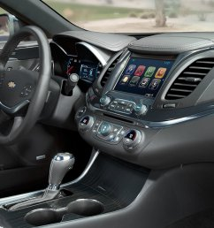 new chevrolet impala interior features [ 2000 x 1000 Pixel ]