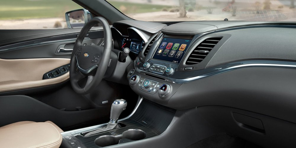 medium resolution of new chevrolet impala interior features