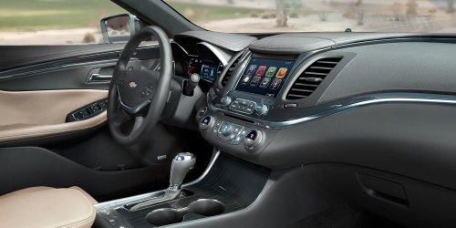 small resolution of new chevrolet impala interior features