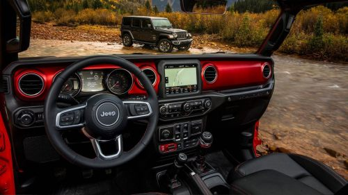 small resolution of jeep wrangler interior photos features
