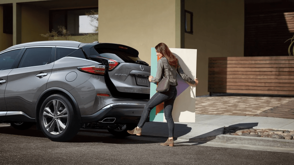 medium resolution of how much cargo space does the nissan murano have