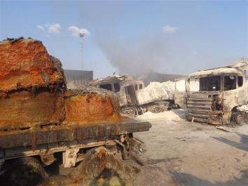 Fire at Kasumbalesa 5