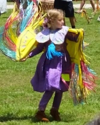 A very spirited butterfly dancer.