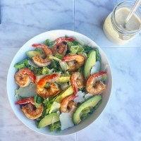 Jalapeño Shrimp Caesar Salad