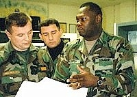 A war photo. General Gotovina is in the middle.