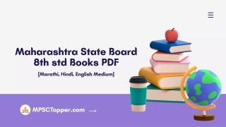 8th std textbook pdf