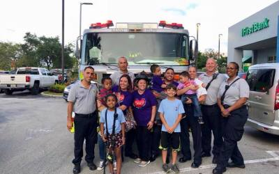 Thank you to the Miami-Dade Fire Rescue, Engine45, Rescue69 and Squad69