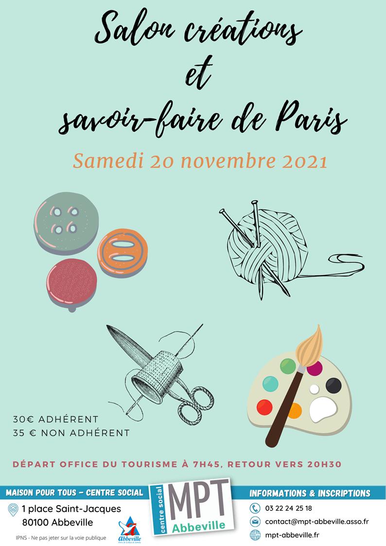 Salon Créations et savoir-faire de Paris