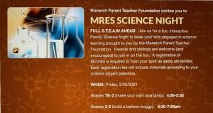 2021 MRES Science Night