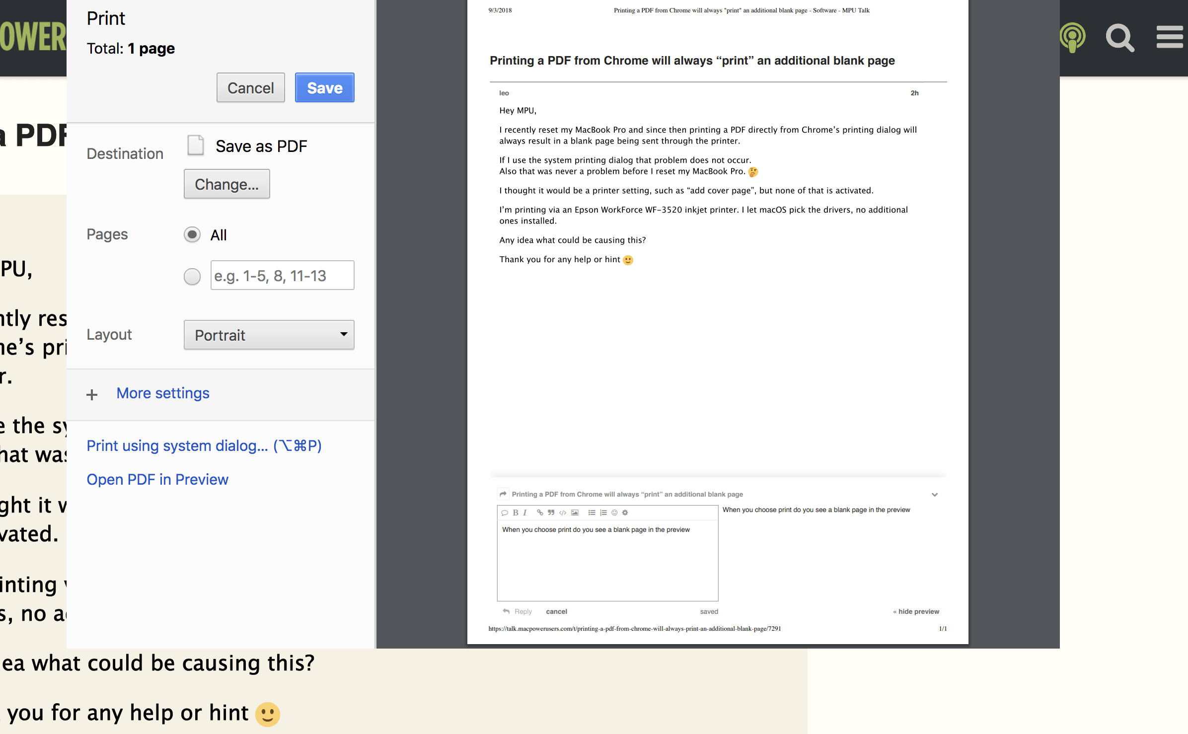 printing a pdf from