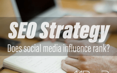 SEO strategy: Does social media influence rank?