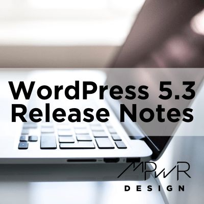 What's coming in WordPress 5.3?