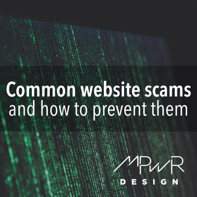 Common website scams and how to prevent them