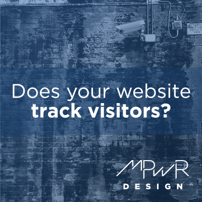 Does your website track visitors?