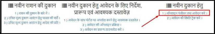 MP Ration Dukar Online Apply Click