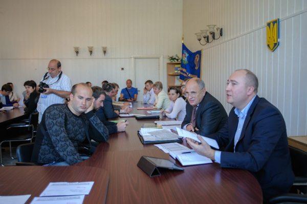 Засідання ОВК Ситенков