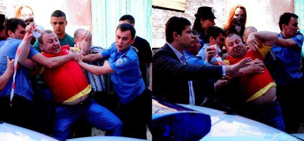 Спроба затримання активіста Сергія батюка