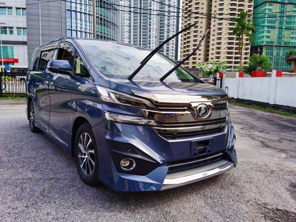 Toyota Vellfire 3.5 Executive Lounge