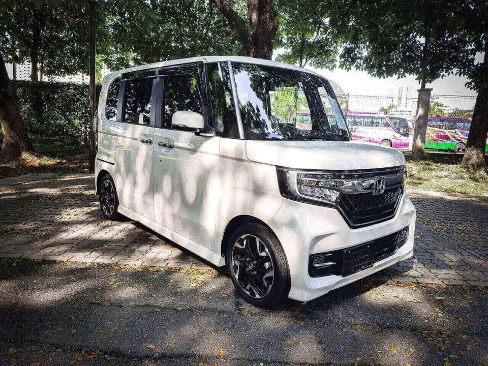 Honda N-Box Custom 660 G Ex Turbo