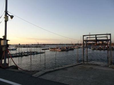 三池港の漁港