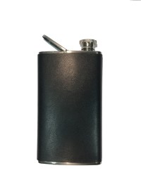 Leather Flask Cigar Holder - Mr. Bill's Pipe & Tobacco Company