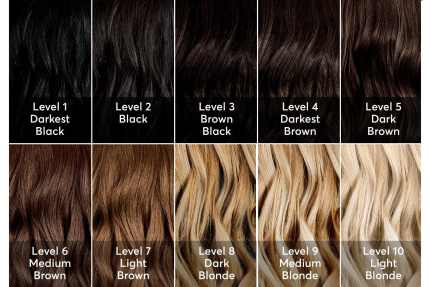 light brown hair box dye