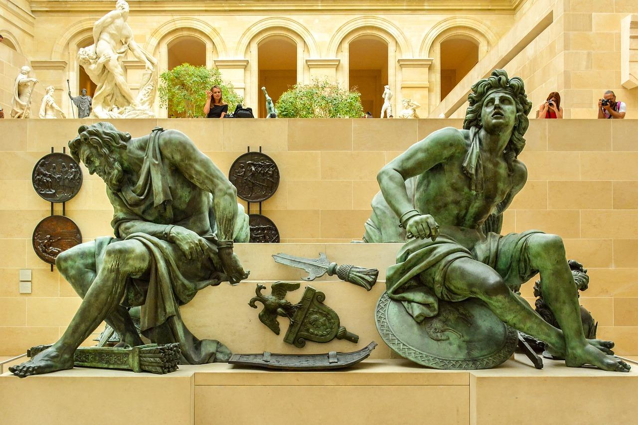 signatures de la sculpture du bronze
