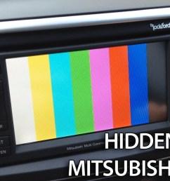 mitsubishi mmcs hidden menu [ 1280 x 720 Pixel ]