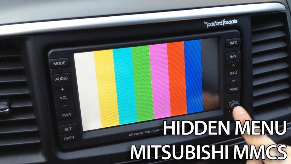 medium resolution of mitsubishi mmcs hidden menu
