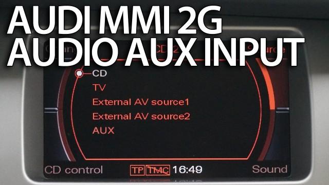 Audi All Road Fuse Diagram Audi Multi Media Interface Mmi 2g Tutorials Mr Fix Info