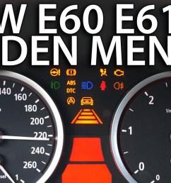bmw e60 e61 hidden menu obc [ 1280 x 720 Pixel ]