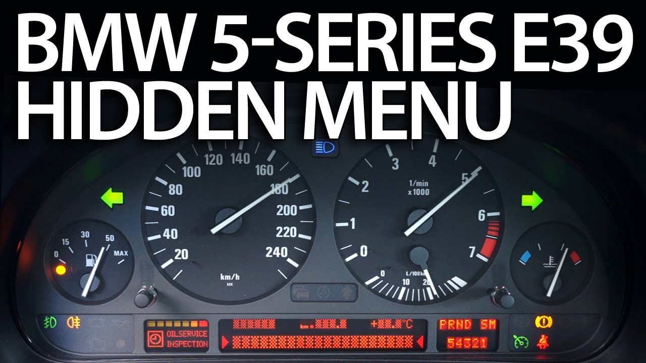 hight resolution of bmw e39 obc hidden menu