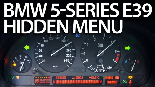 small resolution of bmw e39 obc hidden menu