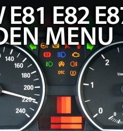 bmw 1 series hidden menu e81 e82 e87 e88  [ 1280 x 720 Pixel ]