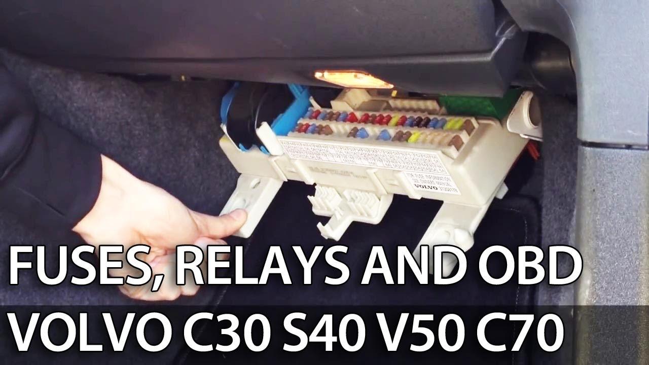 Ford 2g Alternator Wiring Volvo Fuses Location C30 S40 V50 C70 Mr Fix Info
