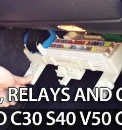 volvo fuses location c30 s40 v50 c70 [ 1280 x 720 Pixel ]